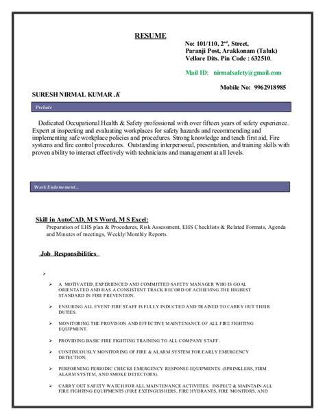 Code Sle Resume by Nirmal Resume 1 1