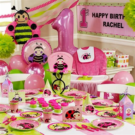 1st birthday ideas for baby girl party themes inspiration birthday party decorations