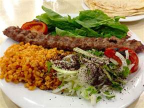 Turkish Adana Kebab Foods