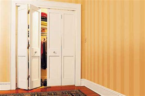home dzine bedrooms install bi fold doors on a closet