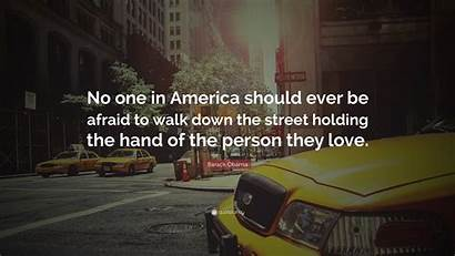 Afraid Ever Walk Should Down Holding Street