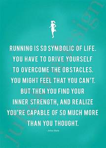 Quotes About Strong Runners. QuotesGram