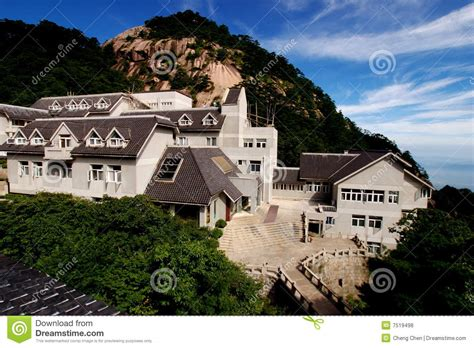 china huangshan beihai hotel royalty  stock