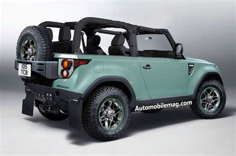 land rover defender 2018 2018 land rover defender may lose its cruelty structure