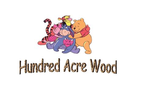 wood base calendar hundred acre wood