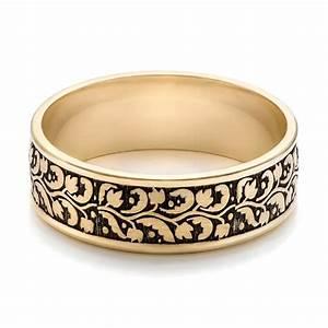 Men39s Engraved Wedding Band 101050 Seattle Bellevue