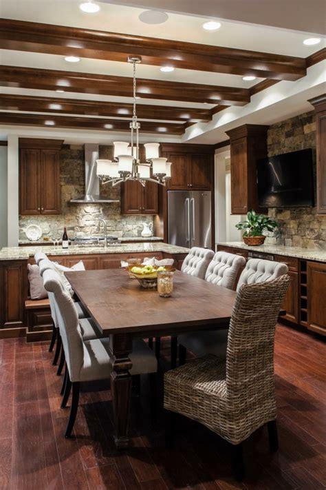 cuisine bois contemporaine cuisine moderne en bois
