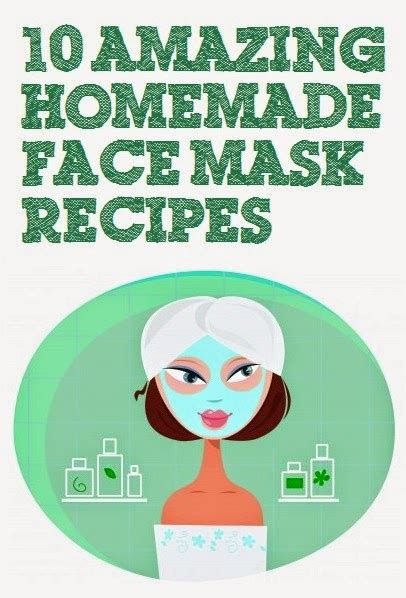 beauty  amazing homemade face mask recipes