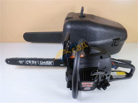 ПервыйСад  Бензопила Craftsman 35170 (кейс