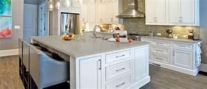 Fossil Gray Quartz Countertop | Kitchen Cabinets & Tiles ...