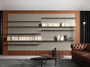 Bibliothèque Murale Bois : biblioth que murale bois id es de d coration int rieure ~ Premium-room.com Idées de Décoration