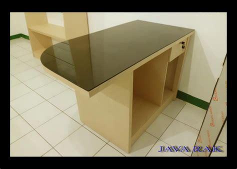 meja kasir rak mini market murah