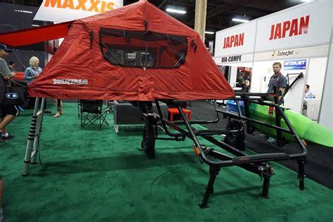 ib yakima swings    rack extension tailgate pad cargo trailer bikerumor