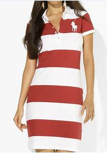ressortir ralph lauren femme big pony stripe robe blanc rouge With robe ralph lauren femme