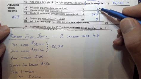 How to Find Adjusted Gross Income AGI 2016