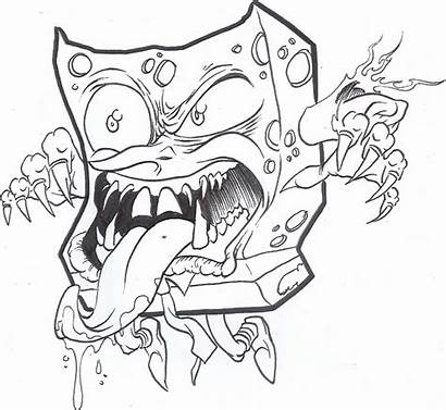 Monster Spongebob Sleepover Commission Deviantart