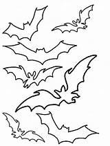 Bats Bat Halloween Stencil Coloring Pages Printable Patterns Hellokids Flying Battleship Rango Vampire Cliparts Source Cartoon Stencils Dracula Cut Dwz sketch template