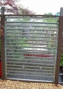 Zaun Aus Glas : sichtschutz glas und wasser ~ Michelbontemps.com Haus und Dekorationen