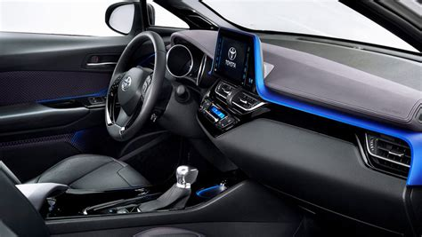 toyota ch  suv interior revealed    launch