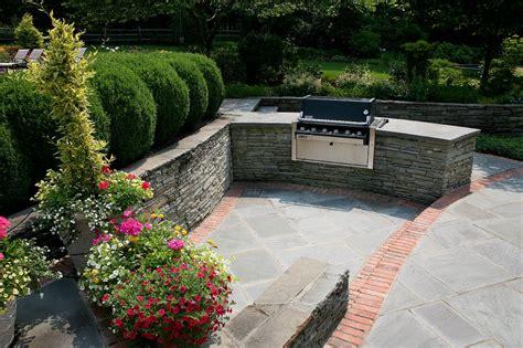 brick mailbox custom bluestone patio in bernardsville jersey