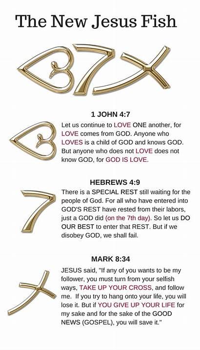 Tattoos Verse Fish Bible Jesus Christian God