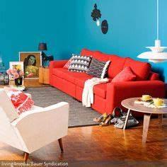 Rotes Sofa Welche Wandfarbe : rotes sofa deutsche dekor 2017 online kaufen ~ Bigdaddyawards.com Haus und Dekorationen
