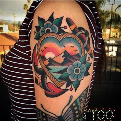 Tropical Flower Tattoos On Foot
