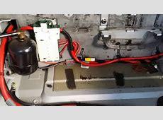 BMW X5 44 rear air bag suspension self leveling system