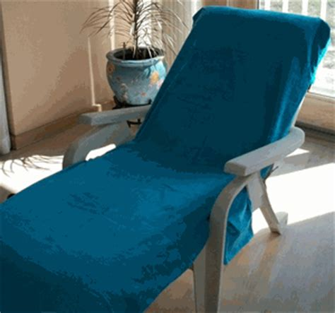 oversized chaise lounge chair towels