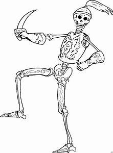 Skelett Mit Ruestung Ausmalbild Malvorlage Phantasie