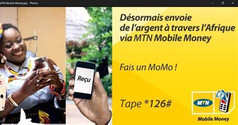 mtn mobile money a partir du cameroun mtn lance un service d envoi d