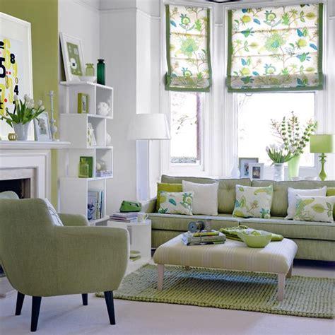 Fresh Green Living Room  Living Room Decor Housetohome