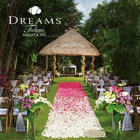 dreams tulum secret garden wedding package