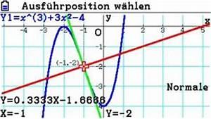 Tangente Und Normale Berechnen : casio fx cg20 extrempunkte wendepunkte tangente und normale mathe brinkmann ~ Themetempest.com Abrechnung