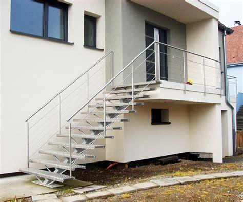 escalier ext 233 rieur bois m 233 tal inox escaliers