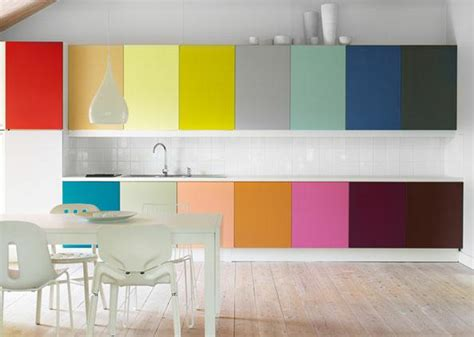 colorful kitchens ideas rainbow designs 20 colorful home decor ideas