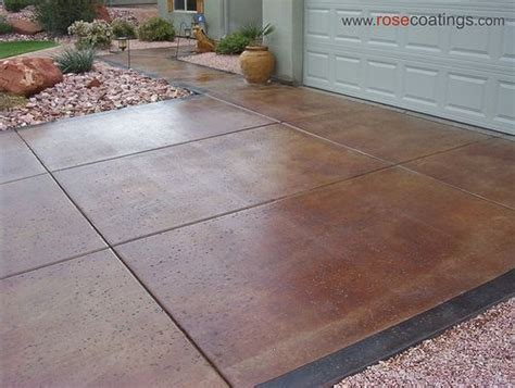 diy concrete stain stained concrete driveways concrete stain driveway diy 3392