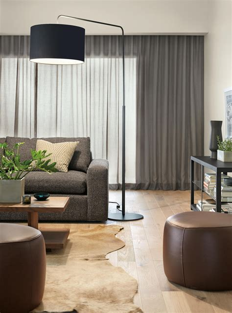 arc floor lamp   dining table