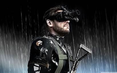 Solid Gear Metal Zeroes Ground 4k Wide