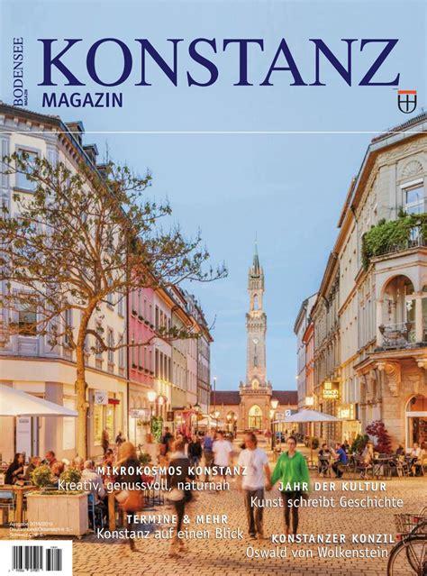 Garten Kaufen Konstanz konstanz magazin 2018 by marketing und tourismus konstanz