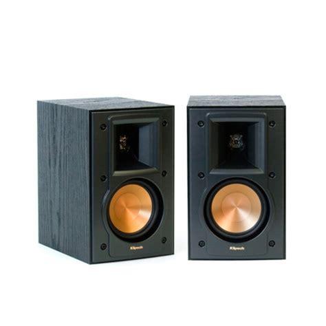 klipsch bookshelf speakers klipsch rb 41 ii bookshelf speakers pair display model