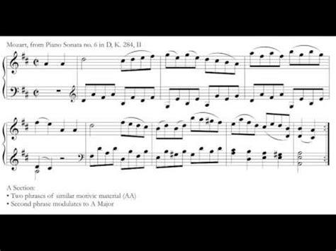 music theory binary ternary forms youtube