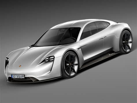 Mission E by Porsche Mission E Concept 2015 3d Model Max Obj 3ds