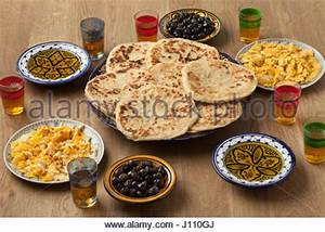 MOROCCAN BREAKFAST Stock Photo, Royalty Free Image ...