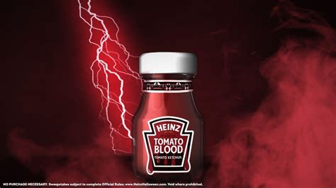Heinz is giving away Tomato Blood ketchup via TikTok