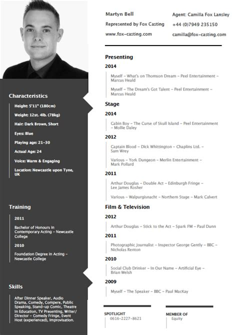 How To Lay Out My Resume by Cv Layout Designs Chapeauchapeau
