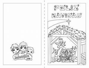 Noel En Espagnol : coloriages joyeux no l en espagnol ~ Preciouscoupons.com Idées de Décoration