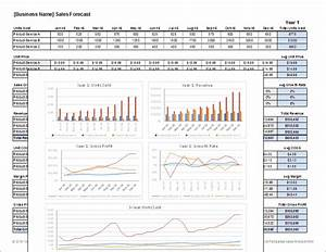 download a free sales forecast template spreadsheet With sales projection template free download