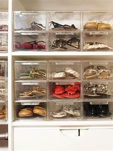 Idee Rangement Chaussure : 49 id es astuces pour le rangement des chaussures ~ Teatrodelosmanantiales.com Idées de Décoration
