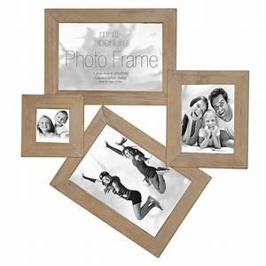 Cadre Photo 40x60 : cadre multivues 4 photos bois innova ~ Dode.kayakingforconservation.com Idées de Décoration